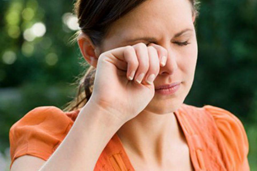 Alergia ocular relacionada con la exposición a aerosoles